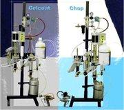 Универсальная машина для напыления стеклопластика.