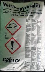 Пиросульфит натрия (Na2S2O5),  или метабисульфит натрия